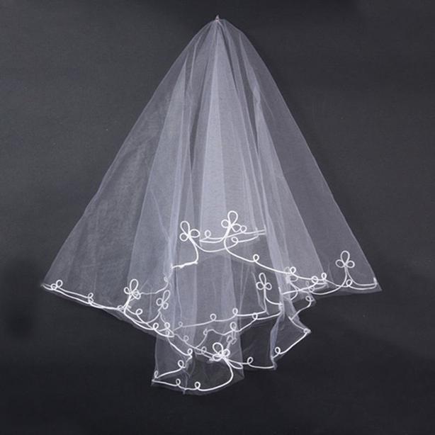 NEW White Veil