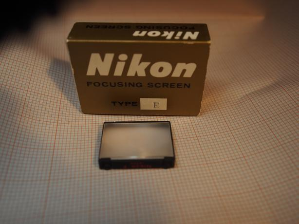 Nikon F/ F2 focus screen