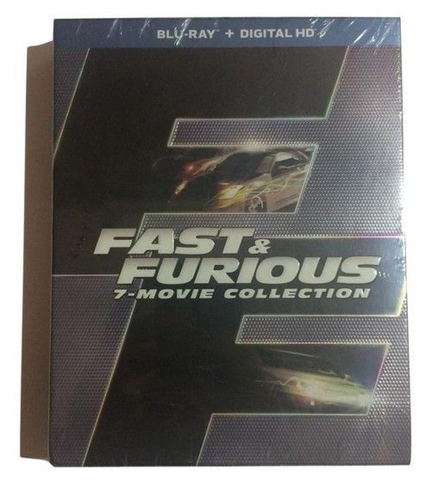 Fast & Furious 7-Movie Collection (Blu-ray + Digital HD) - Brand New