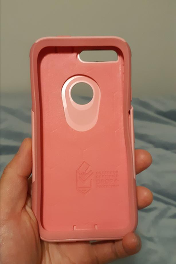 Pink Otterbox Commuter Case or Pixel