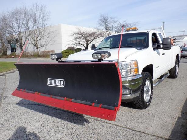 2011 Chevrolet Silverado 3500HD Plow Truck  and Sander Ext. Cab Long Box 4WD