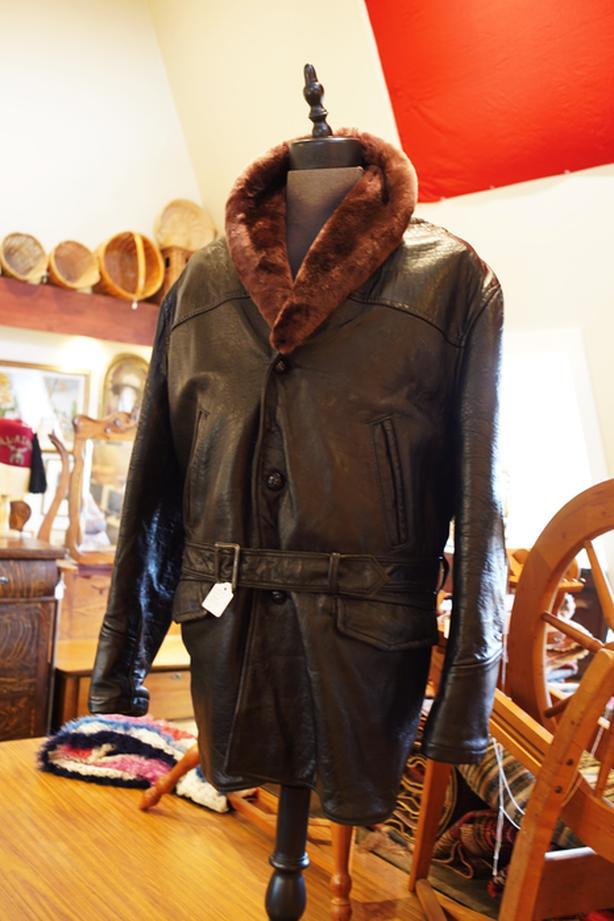 Vintage Thick Leather Barnstormer Jacket