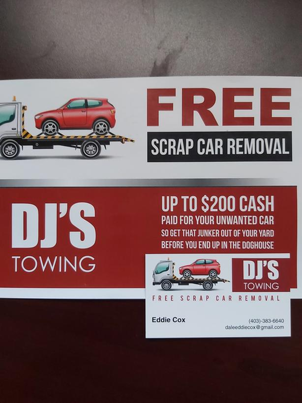 UP TO $$200$$ CASH FOR YOUR UNWANTED VEHICLE