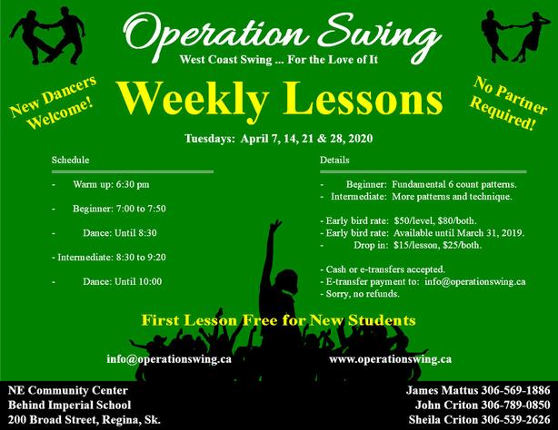 New Students get First Lesson FREE!