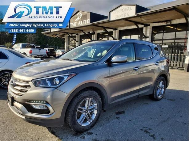 2018 Hyundai Santa Fe Sport Luxury AWD  - Navigation - $168 B/W