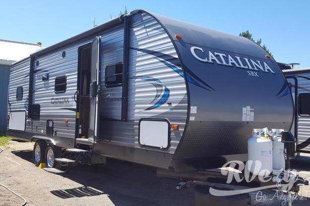 Catalina SBX 261BHS (Rent  RVs, Motorhomes, Trailers & Camper vans)
