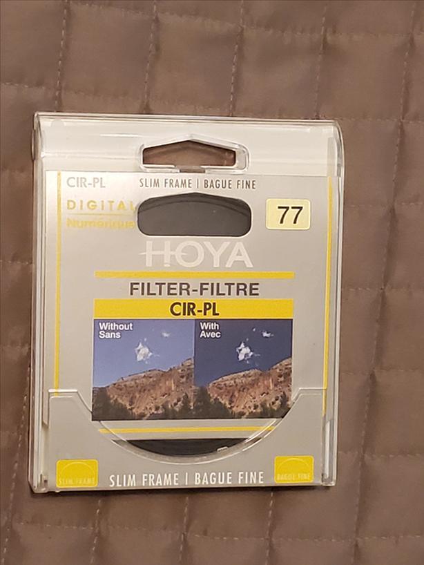 77mm HOYA CIR-PL Filter