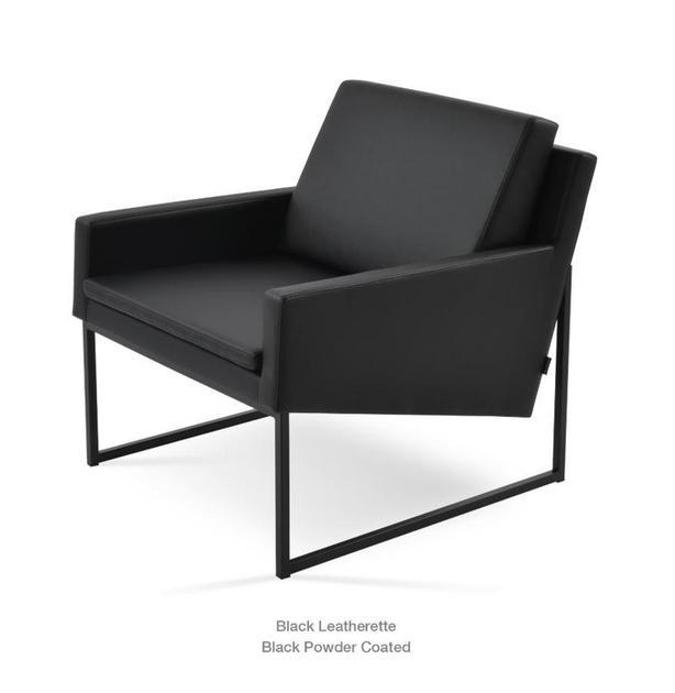 SOHO CONCEPT NOVA Metal Sled Chairs