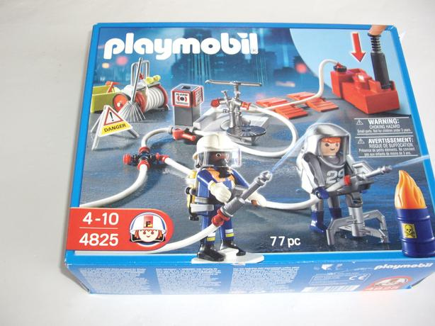 PLAYMOBIL 4825  NEW IN BOX FIRE