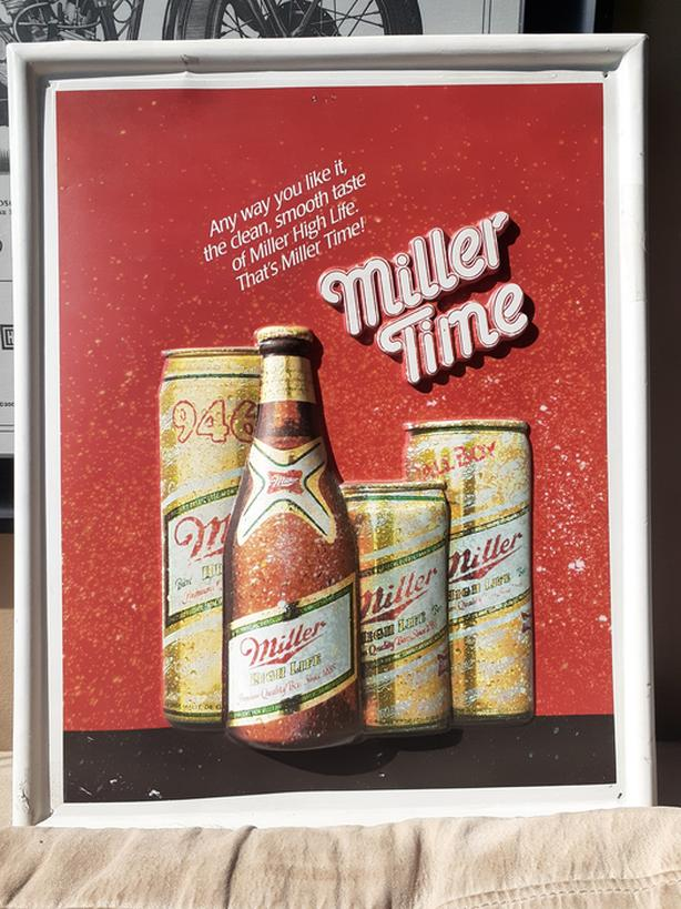 Miller Time Poster