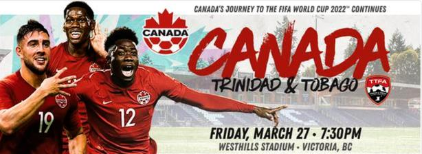 Canada vs Trinidad Soccer Tickets
