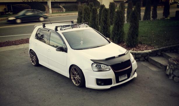 Volkswagen GTI Golf Rabbit MK5 MKV Custom Made Bra Carbon Fibre