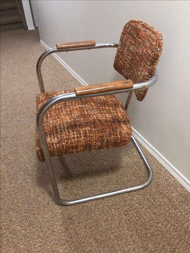 Rare Marcel Breuer Cesca Chair (Tubular Steel) from 1930's/1940's