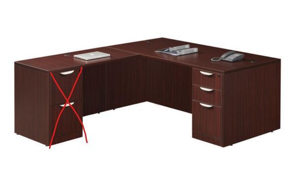 TWO L shape desk-great condition-$150 each