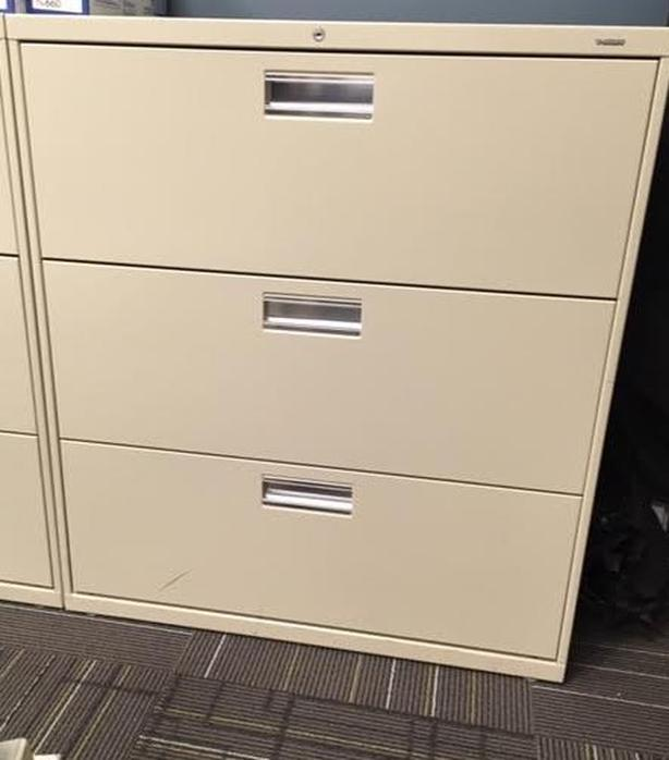 File cabinet-lateral