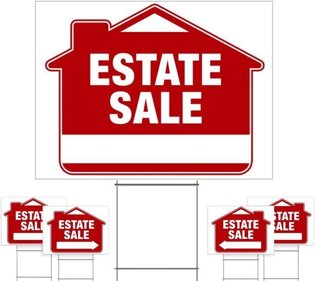 Estate Sale   Saturday  March 14th. 9am-2pm