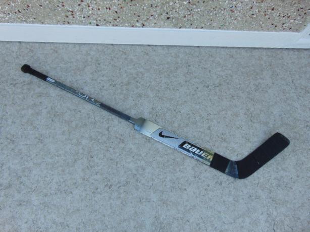 Hockey Goalie Stick Junior 59 inch Bauer Vapor Carbon Left Minor Wear