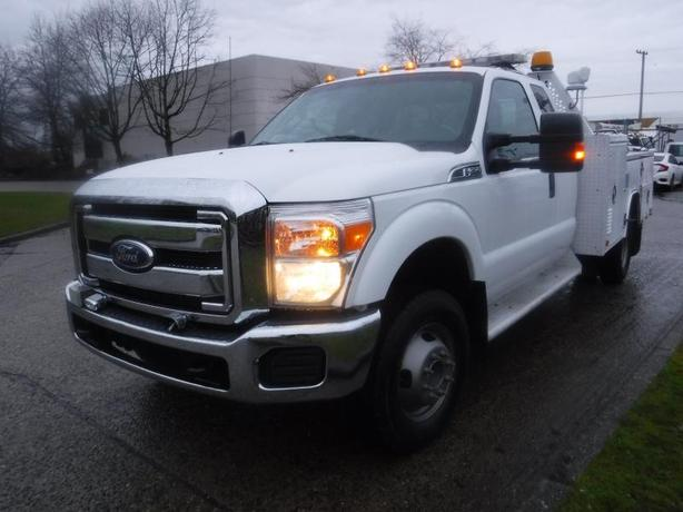 2012 Ford F-350 SD Service Truck SuperCab Long Bed Dually  4WD