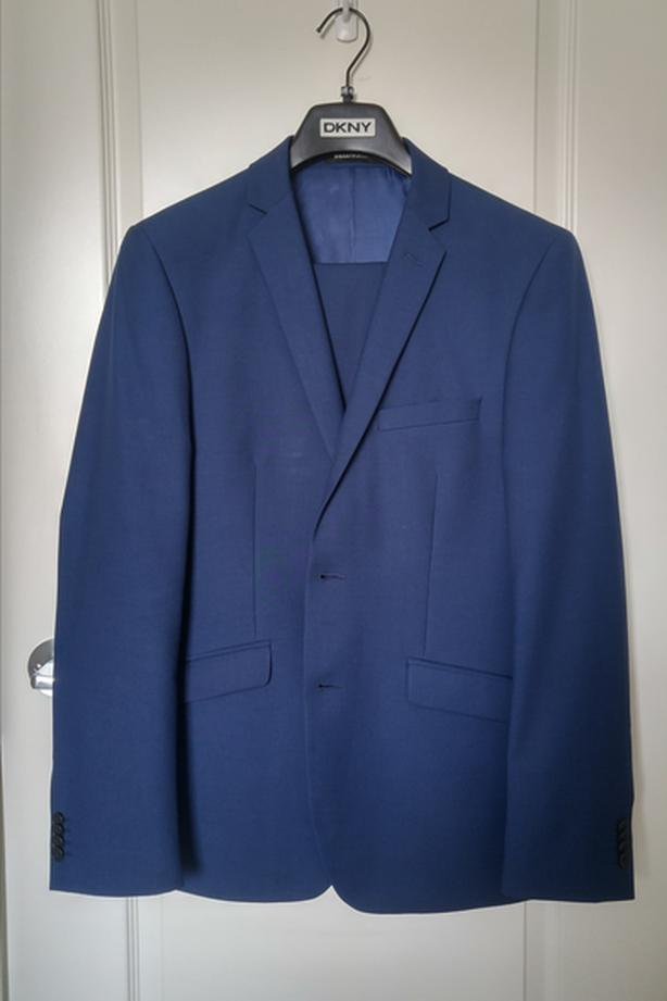 Blue Belissimo Suit - Great Condition