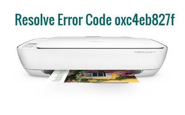 Step By Step Tricks To Fix Error Code oxc4eb827f