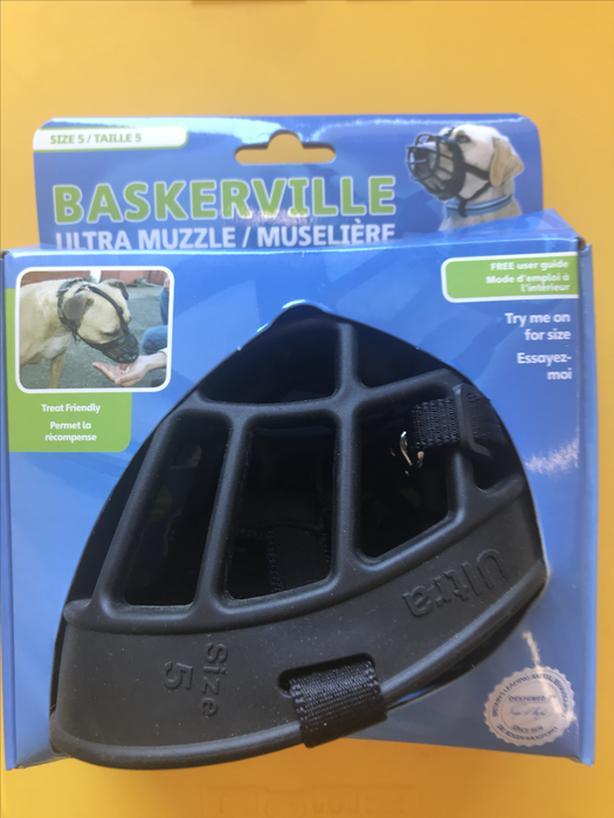 Baskerville dog muzzle - size 5