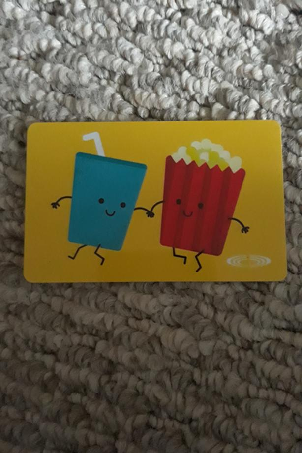 Cineplex 25$ giftcard