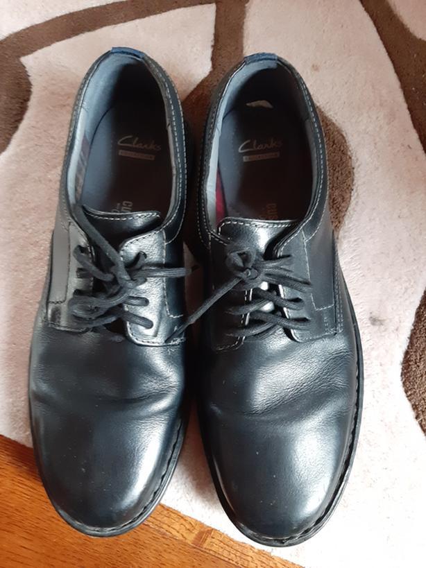 Clarks men's dress shoes - black