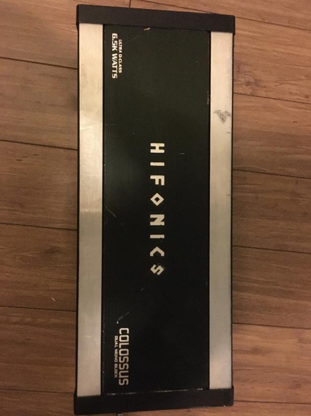 Hifonics 6500Kw amp Only $300