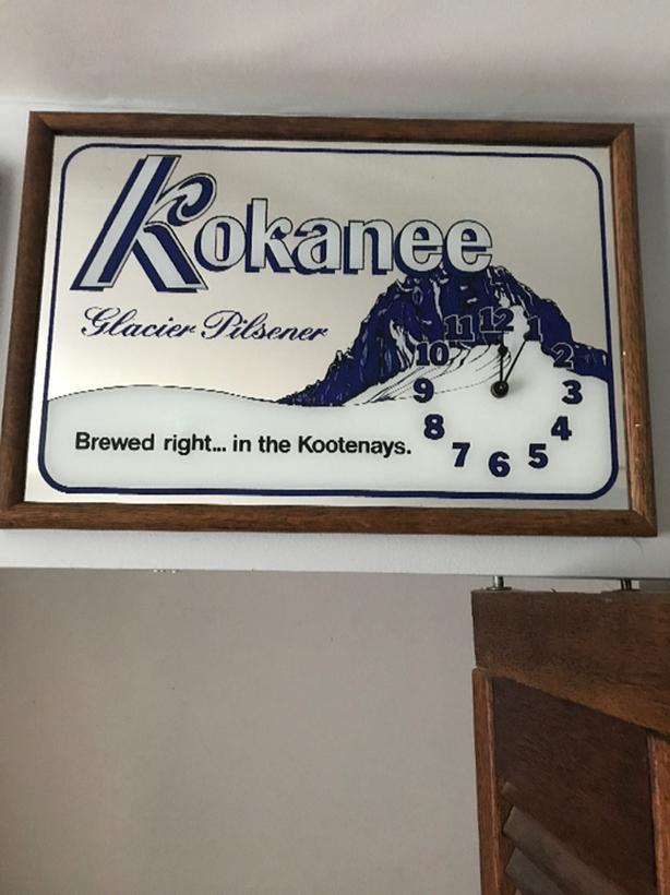 kokanee wall clock