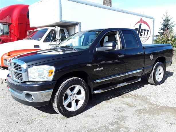 2008 Ram 1500 5.7L V8 4x4 Unit Selling at Auction!
