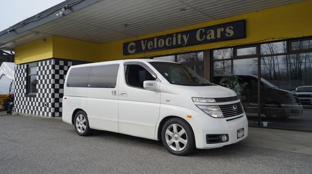 2002 Nissan Elgrand Highway Star 4WD AT 77K
