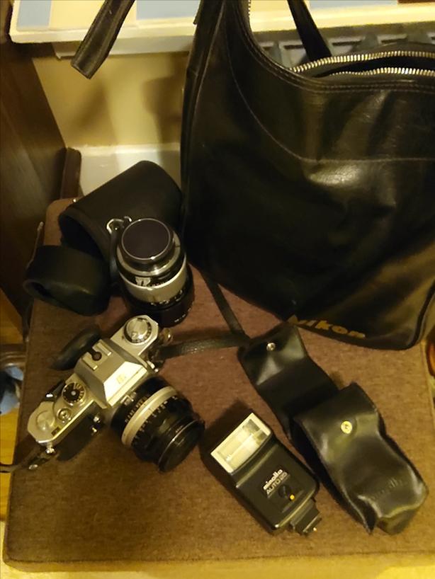 Nikkormat 35mm Camera