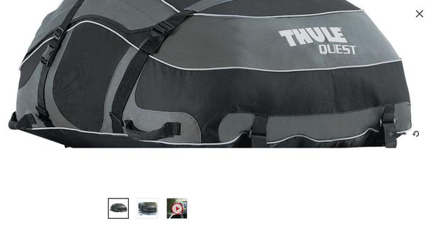 THULE soft-sided car-top carrier