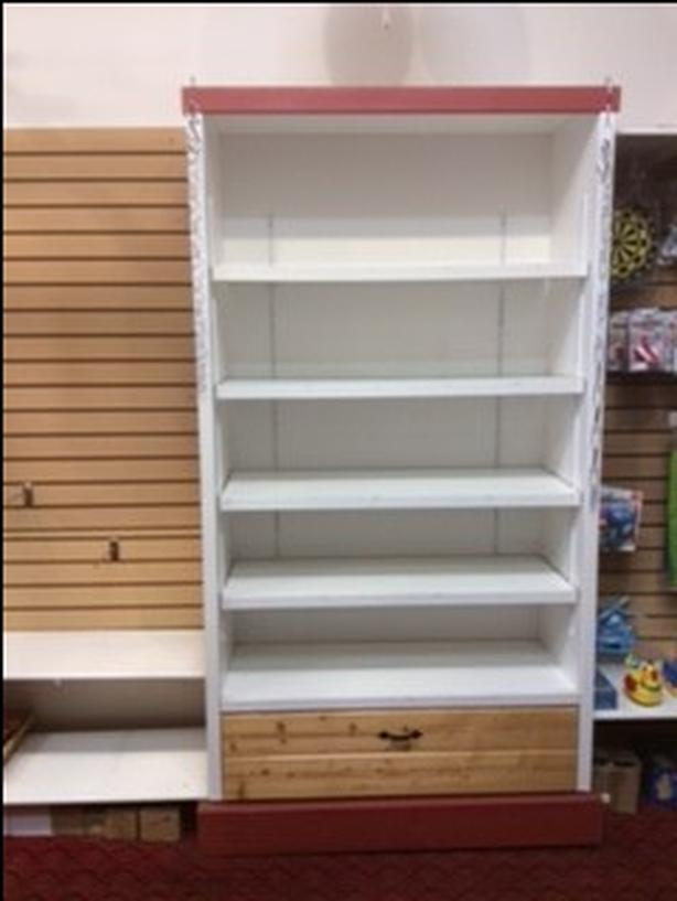 Shelving (6) units for storage or display