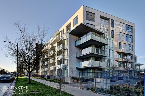 Cambie Brand New 1 Bed 1 Bath Condo w/ Air Cond @ 35 Park West