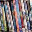 assorted childrens or parent dvds