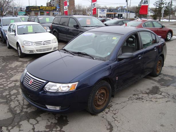 2007 Saturn Ion ***Extra Rims & Summer Tires Included***