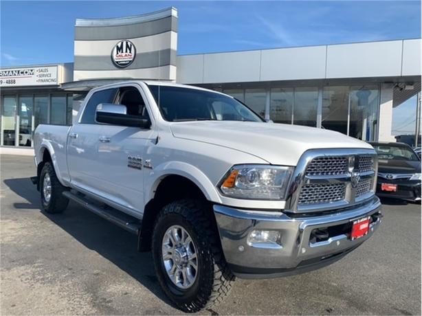 2017 Ram 3500 Laramie 4WD DIESEL EZLINK TUNED LIFTED ONLY 114KM