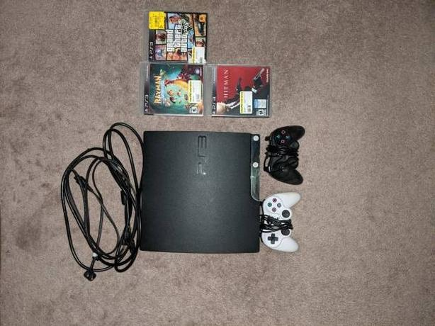 selling PS3 and 2 controllers - 3 games