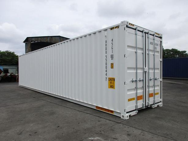 40FT HIGH CUBE NEW ONE TRIP DOUBLE DOOR SHIPPING CONTAINER