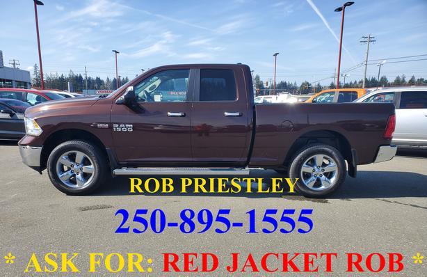 2013 RAM 1500 QUAD CAB SLT 4X4 * ask for RED JACKET ROB *
