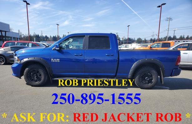 2014 RAM 1500 CREW CAB SPORT 4X4 * ask for RED JACKET ROB *