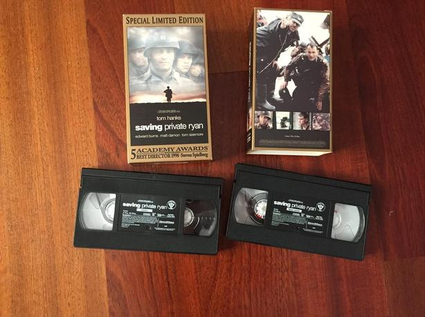 Saving Private Ryan Special Limited Edition VHS Set