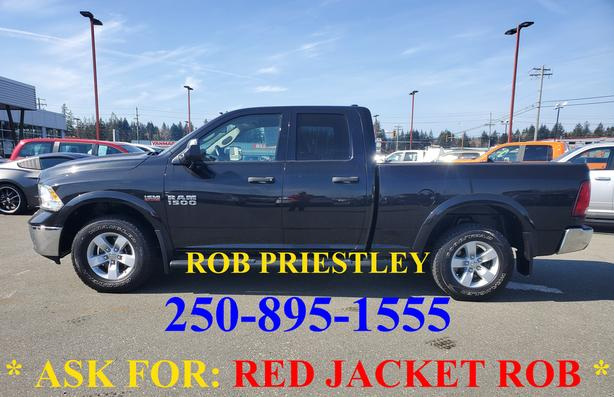 2015 RAM 1500 QUAD CAB OUTDOORSMAN 4X4 * ask for RED JACKET ROB *