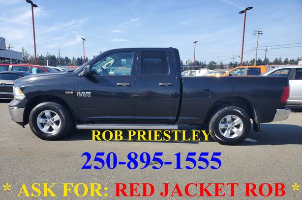 2017 RAM 1500 QUAD CAB SXT 4X4 * ask for RED JACKET ROB *