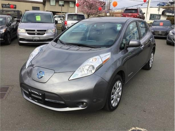 2015 Nissan Leaf S! NO MORE GAS! SAFE TODAY! 1 OWNER!