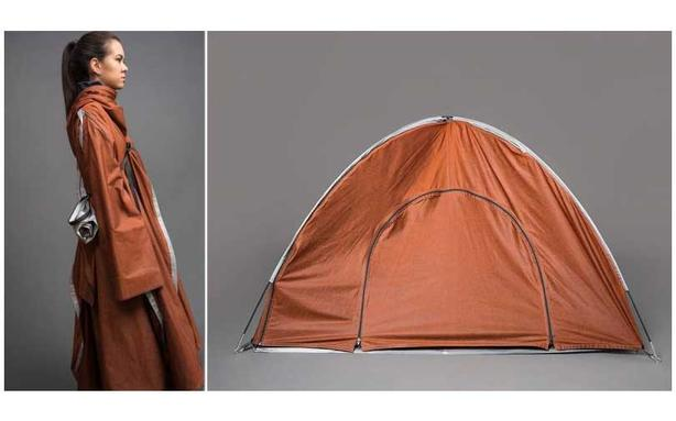Tent Jacket by Adiff