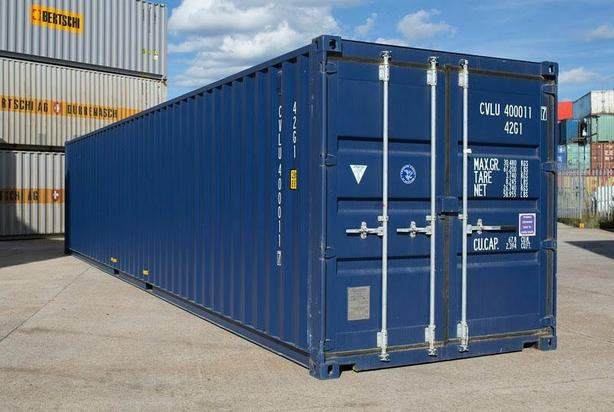 40ft Standard Shipping Containers - Excellent Quality / Cargo Worthy