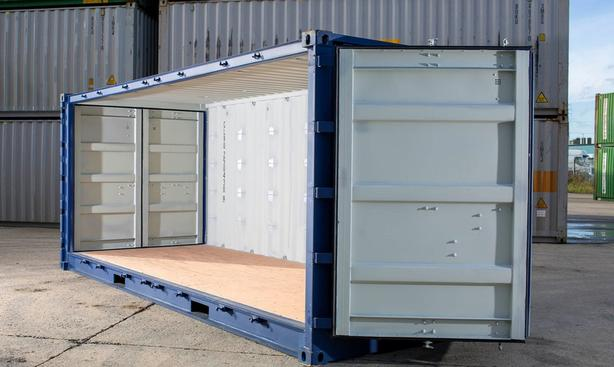 20ft Side Opening Containers