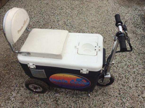 Cruzin Cooler Scooter